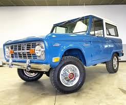 Fords New Bronco A Brief History Of The First Gen Blue Oval Bronco Second Daily