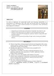 Email For Sending Resume To Hr Hr Vishal Resume Having More Than 5 Yrs Exp