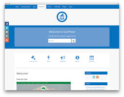 free bootstrap templates for government 25 best free wordpress themes built with bootstrap 2018 colorlib
