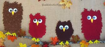 fabric owls burlap fall decor blessing reminder on