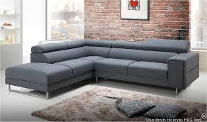 canapé tendance canapé d angle tendance en tissu gris clair 5 à 6 places