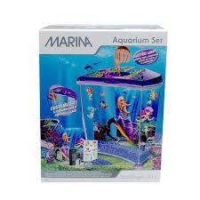 marina plastic mermaid betta aquarium decor pet supplies