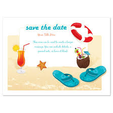 beach party save the date invitations u0026 cards on pingg com