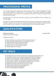 broadcast journalism cover letter templates