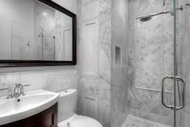mediterranean doorless shower designs bathroom transitional with