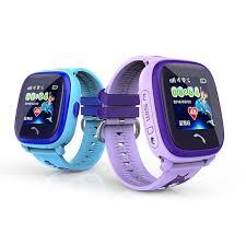 aliexpress location new df25 child smartwatch ip67 swim touch phone smart watch sos call