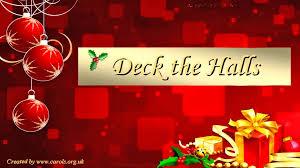 deck the halls lyrics