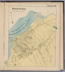 Map Staten Island Section K Tottenville Staten Island New York David Rumsey