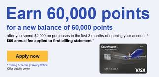 Rapid Rewards Card Invitation Targeted Chase Southwest Plus 60 000 Points Or 50 000 100