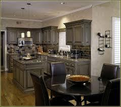 pickled oak cabinets updated home design ideas kitchen