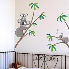 stickers savane chambre bébé stickers animaux savane jungle berceau magique
