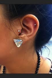 ear piercing hoop 40 great tragus piercing photos