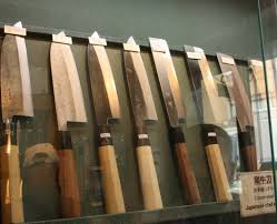 the perfect blade finding knives at kamata in kappabashi matcha wabocho a knife with a natural wood handle