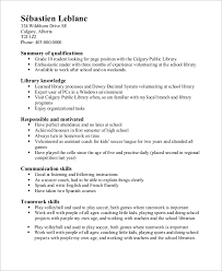 Soccer Resume Example by High Resume Example 8 Samples In Word Pdf