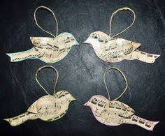 Music Christmas Tree Decorations by Easy And Inexpensive Christmas Decorations From Sheet Music