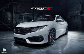 2014 Honda Civic Si Sedan Specs 2016 Civic Si Coupe Accurately Rendered But Is There A Turbo
