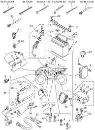 2010 yamaha wolverine 450 4wd electrical system wiring diagram