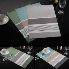 kitchen table placemats home design inspiration kitchen table creative stripe mats insulation bowl placemats dining