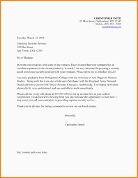 Cover Letter For Aviation Job Security Guards Resume Template Examples