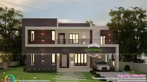 2300 square foot house plans 4 bedroom flat roof contemporary 2300 sq ft kerala home design