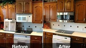 Refinish Kitchen Cabinets Cost Refinishing New Of Brilliant Average