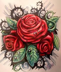 black rose bush tattoo rtirail decoration