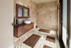 river rock bathroom ideas wall bathroom mirror frame chrome wall l black square
