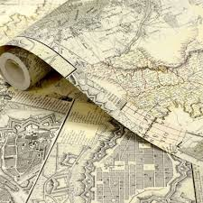 Old World Map Wallpaper by Old World Map Wallpaper Mural Wall Murals You U0027ll Love
