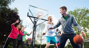 Build A Basketball Court In Backyard Home Backyard Basketball Court Tennis Courts Putting Greens