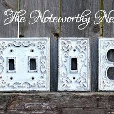 custom light switch covers fancy switch plates cast iron switch plates light switch covers