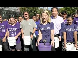 Challenge Yahoo Yahoo Ceo Marissa Mayer Takes On The Als Challenge