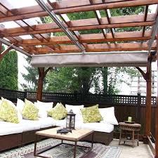 Retractable Roof For Pergola by Retractable Pergola Shades U2013 Telefonesplus Com