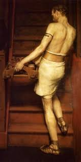 The Roman Potter - Lawrence-Alma-Tadema-The-Roman-Potter-Oil-Painting