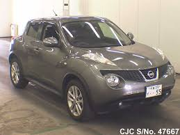 nissan juke for sale 2011 nissan juke gray for sale stock no 47667 japanese used