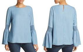 chambray blouse womens chambray shirt bloomingdale s
