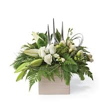 Best Place To Order Flowers Online Flower Delivery A White Christmas Flower Arrangement Interflora Nz