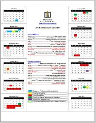 berry middle school 2014 15 hcs school year calendar