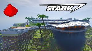 iron man malibu house stark mansion in minecraft w 500 command blocks command