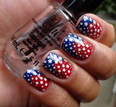 más de 50 uñas decoradas del 4 de julio día de la independencia