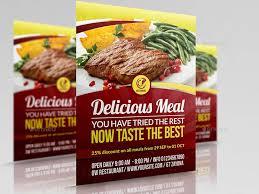 cara membuat brosur makanan 106 contoh desain brosur makanan terbaik 2017 uprint id