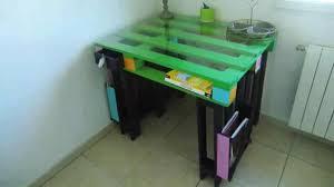 fabriquer bureau soi m e bureaux en palettes diy conseils bricolage facile