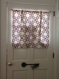 Curtains For Doors With Windows Front Door Window Treatments Awesome Small Curtains Design
