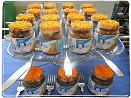 jar baby shower ideas personalized baby shower favors for a girl carrot cake baby food
