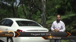 peugeot 508 2014 peugeot 508 2014 review automocion rd youtube