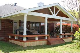 Covered Patio Designs Decor Wooden Step Design Ideas With Green Grass Also Covered