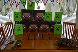 dad geek gamer in that order minecraft birthday party v1 0