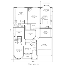 4 bedroom house plans one story no garage home ideas