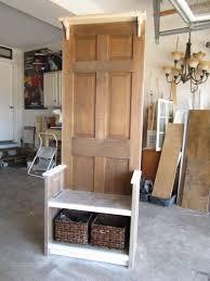 diy door entry bench