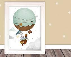 bilder kinderbild heißluftballon kinderzimmer ein - Heißluftballon Kinderzimmer