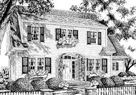 early american house plans southern living house plans